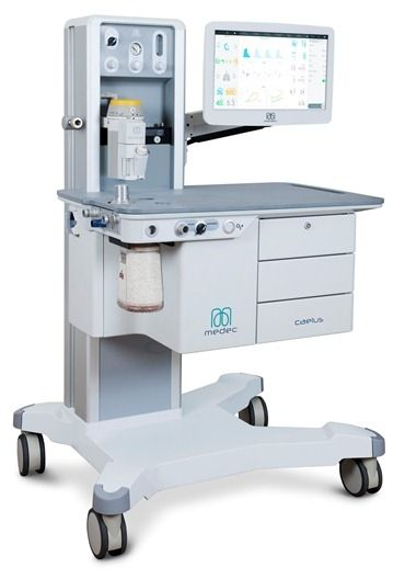 Anesmed Medec Caelus Anesthesia Unit